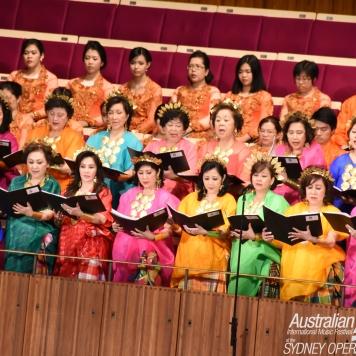 Anging Mammiri Choir - Indonesia